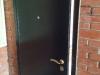 пример установки железной двери