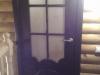 пример установки межкомнатной двери в деревянном доме