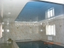 Натяжные потолки в ванных