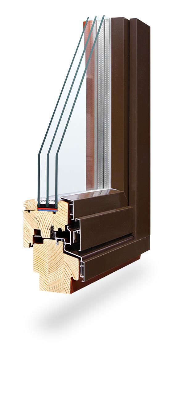 elite large Деревянные окна