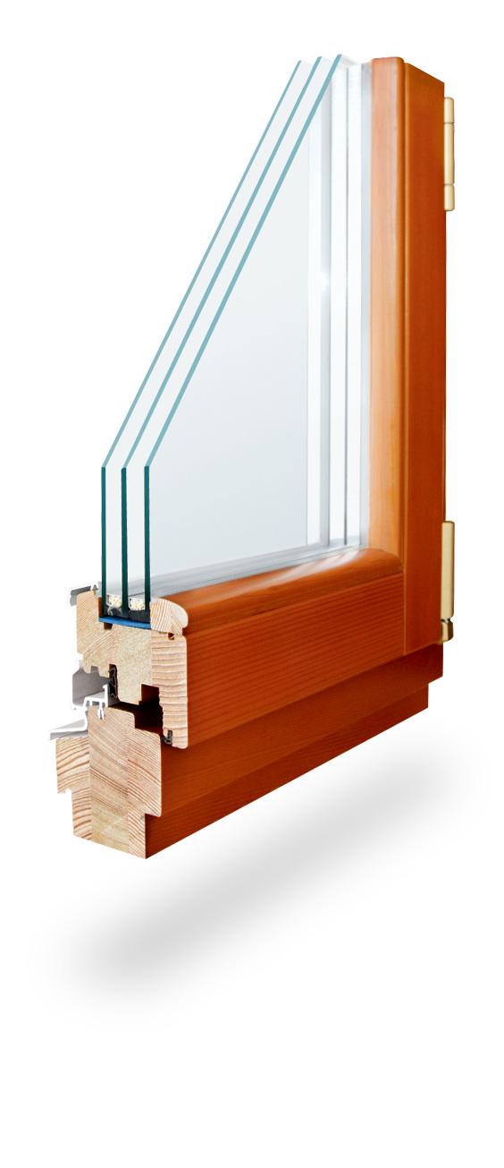 standart large Деревянные окна
